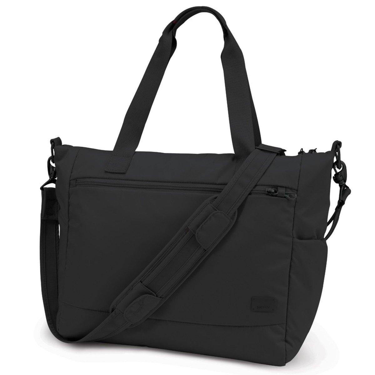 Citysafe CS400 防盜旅行斜揹手提袋 (黑色)