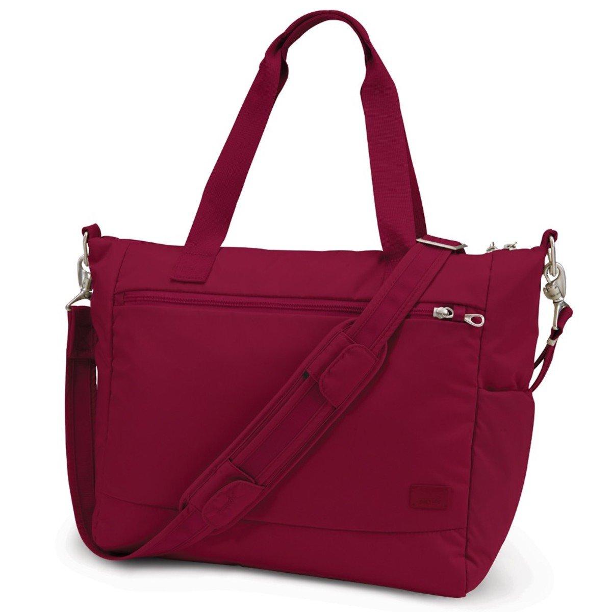 Citysafe CS400 防盜旅行斜揹手提袋 (紅色)