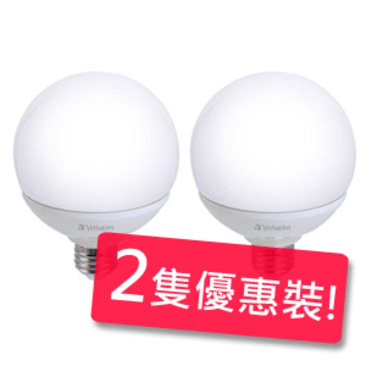 Verbatim 12瓦 E27 480lm 3000k 燈泡 (暖白) 2隻優惠裝