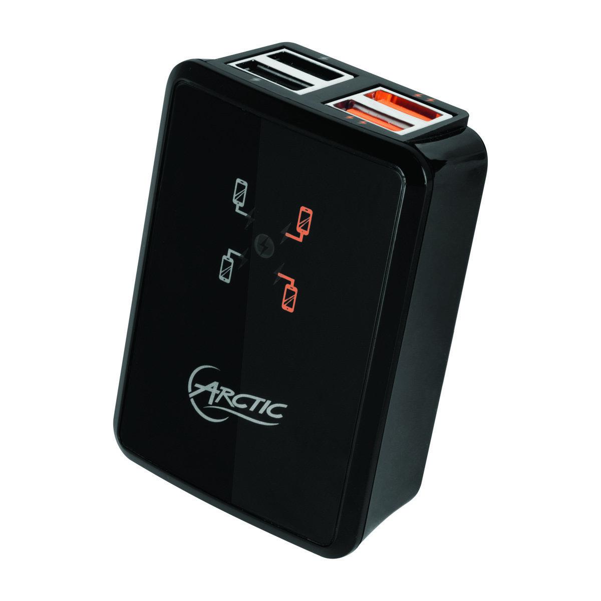 4插口USB快速充電器