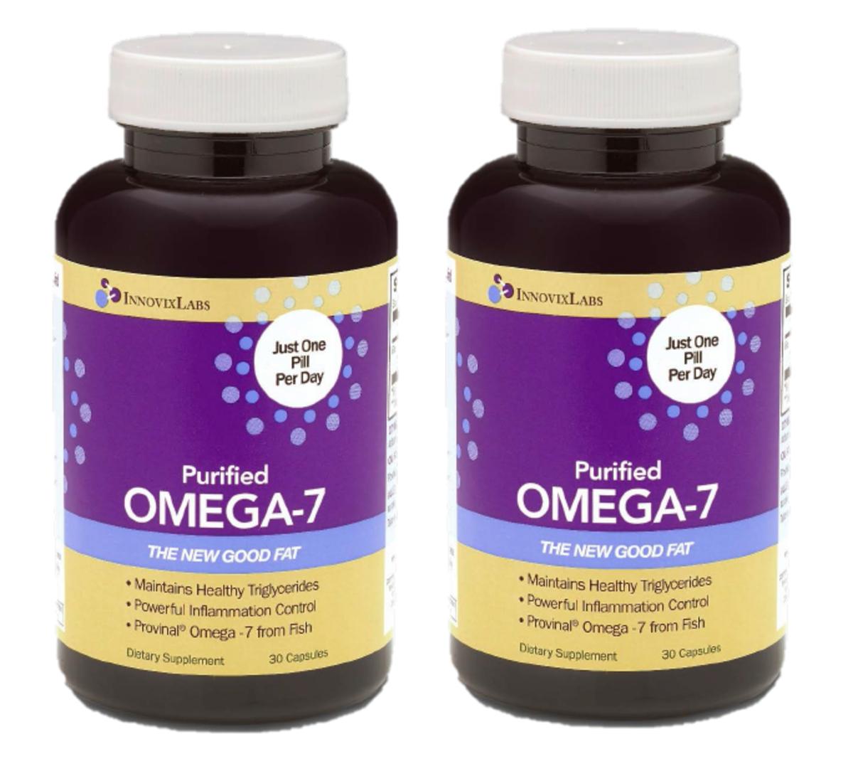 2瓶 超純OMEGA-7魚油丸