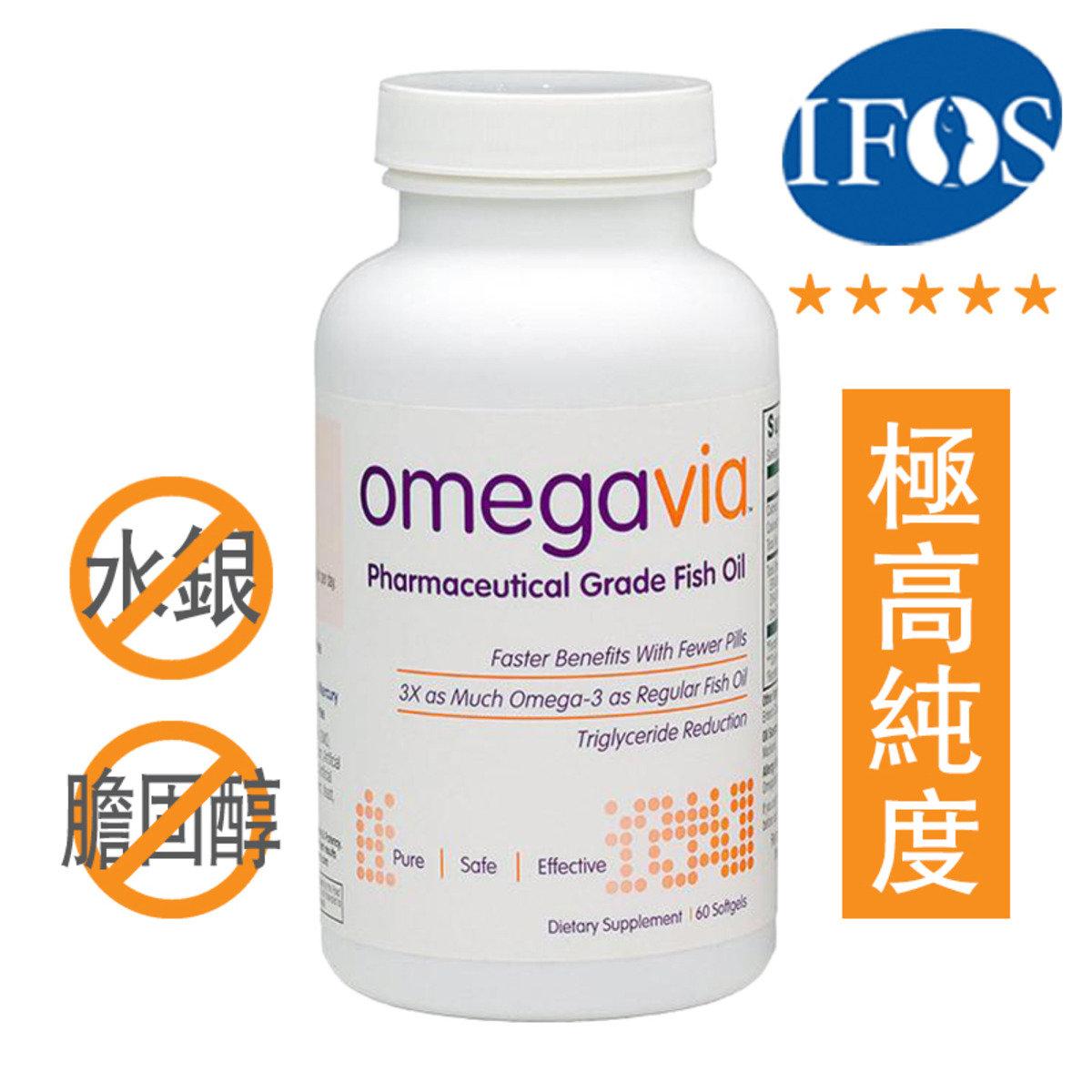 極純OMEGA-3魚油丸  60粒