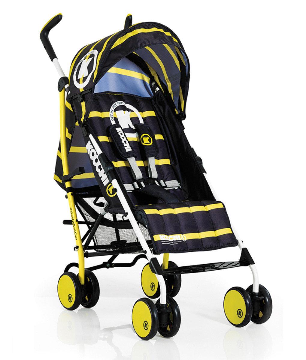 英國 Koochi Sneaker 嬰兒車 – Primary Yellow