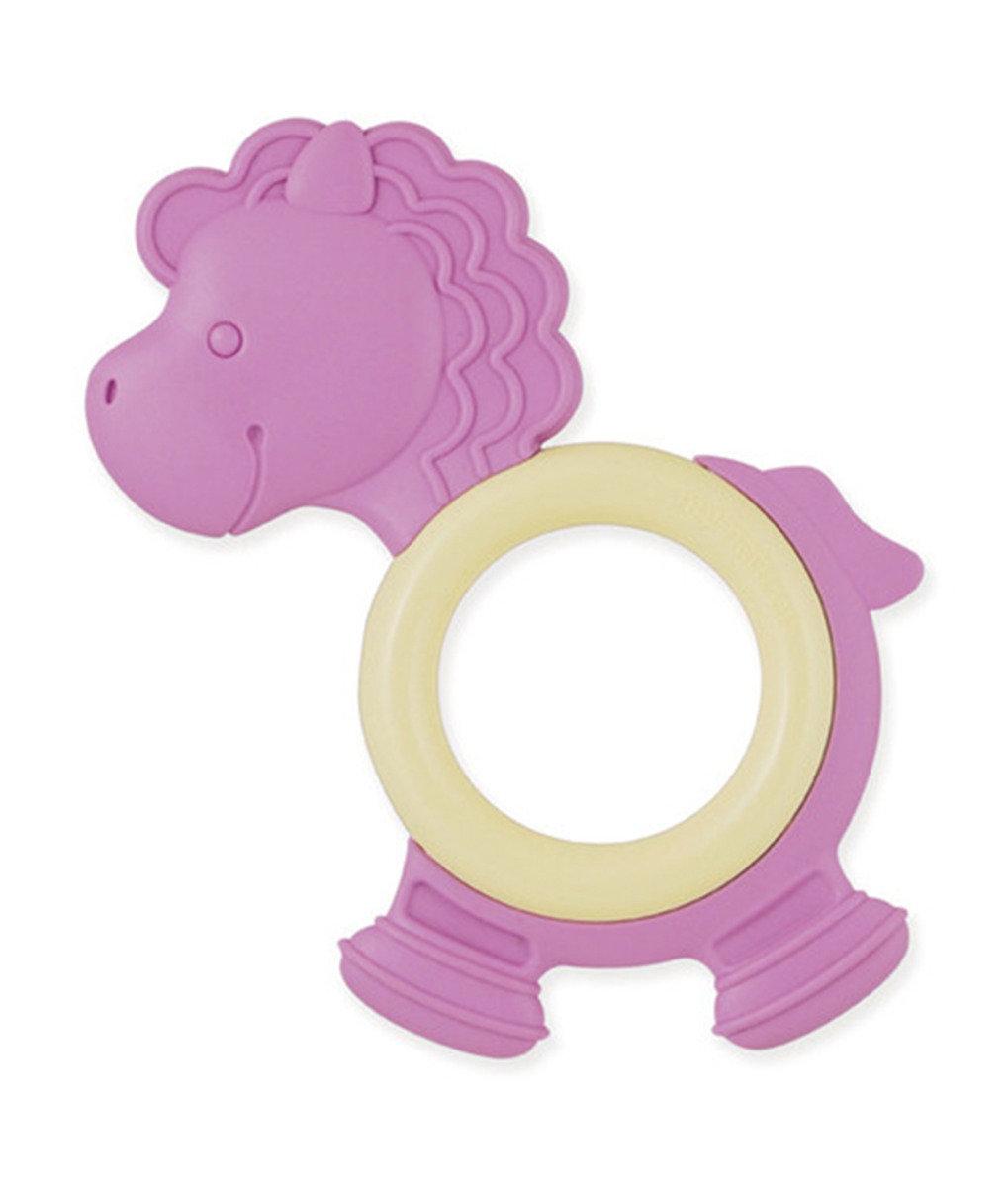 美國紐約My Natural™純天然有機環保牙膠 - 粉紫小馬