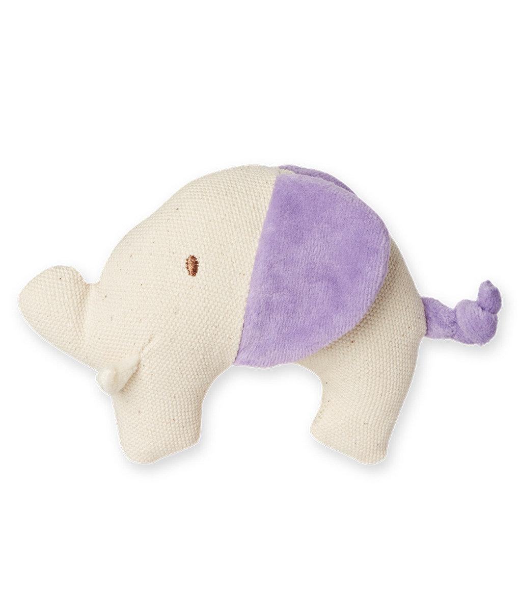 美國紐約My Natural™天然有機帆布牙膠 - 粉紫大象