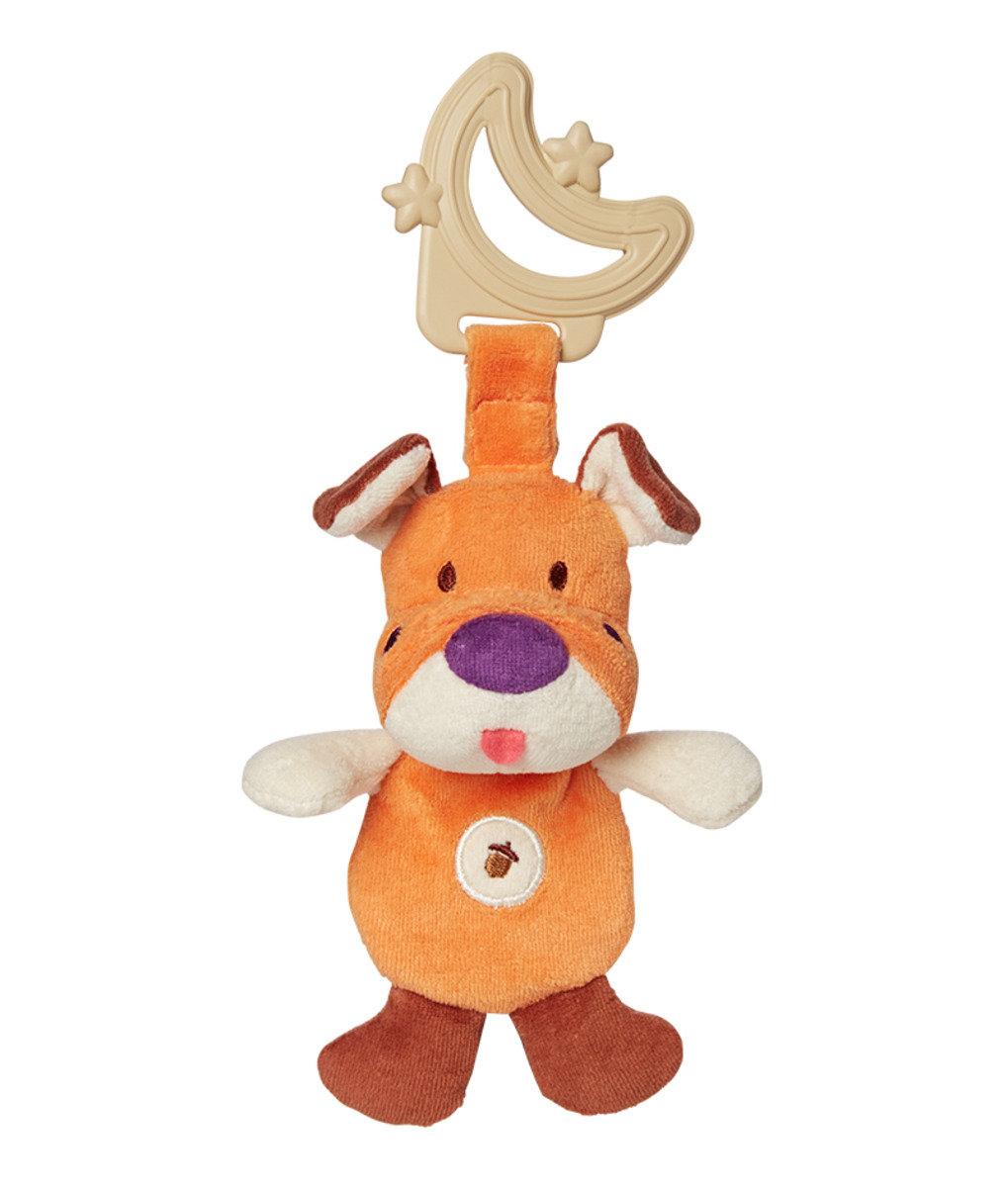 有機棉牙膠 - 橘色小狗
