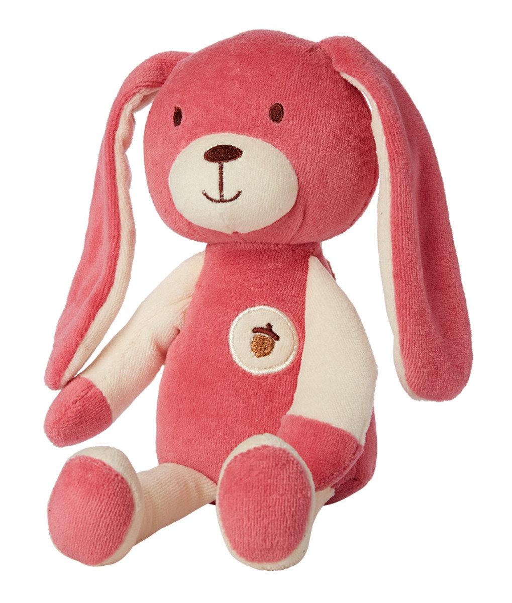 Plush Collection天然有機棉公仔 - 桃紅小兔