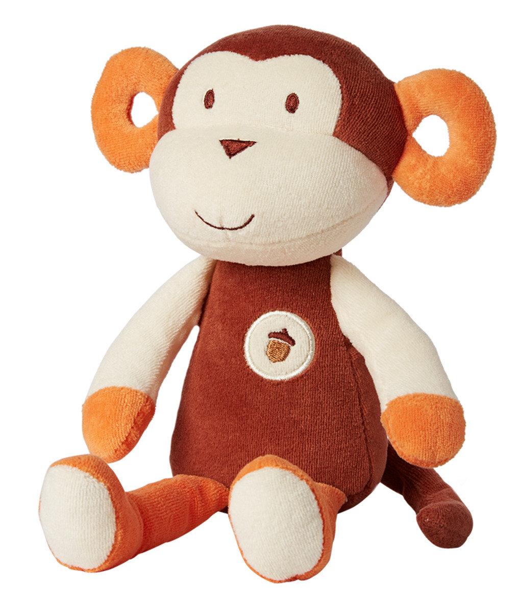 Plush Collection天然有機棉公仔 - 棕色小猴