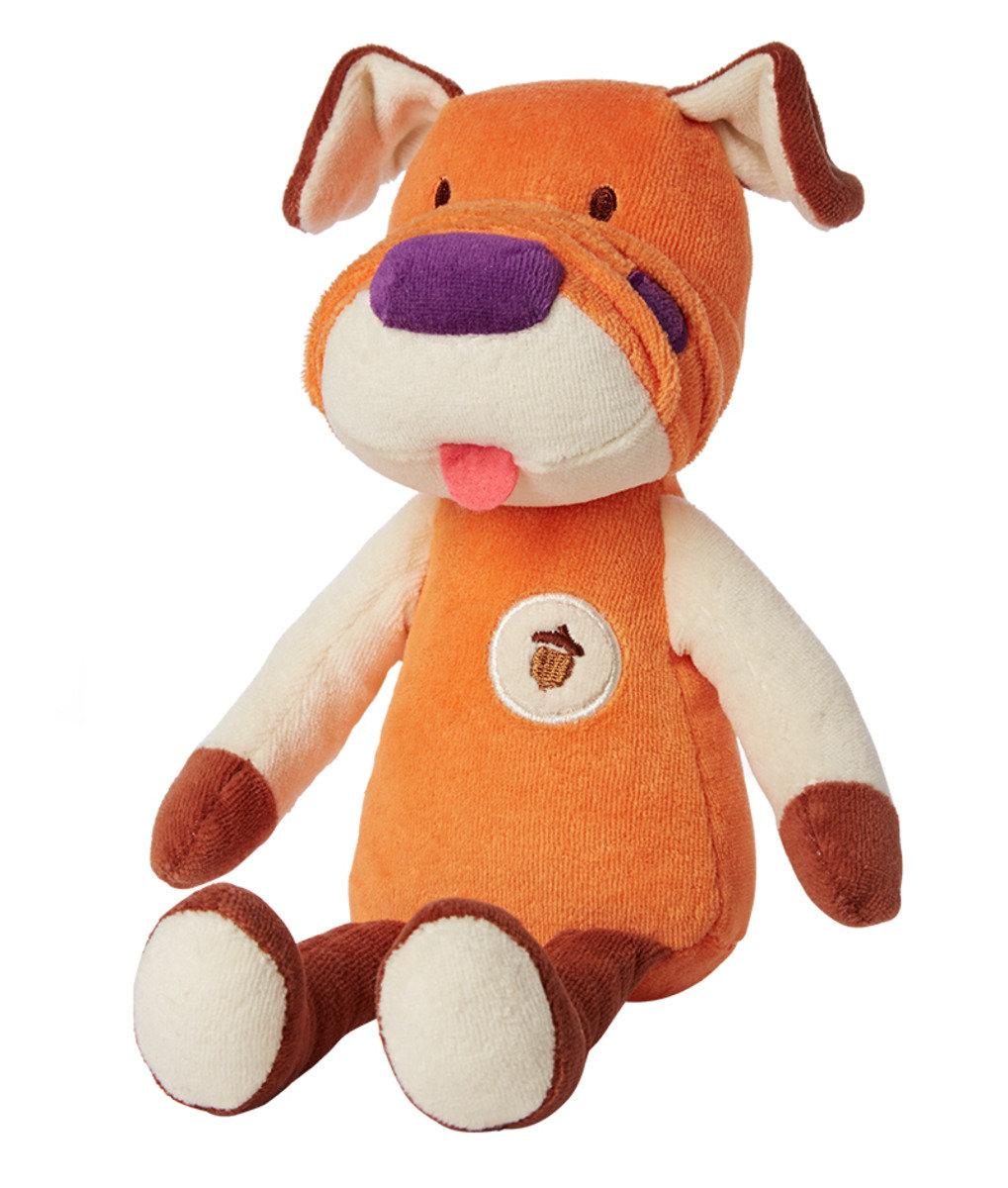 Plush Collection天然有機棉公仔 - 橘色小狗