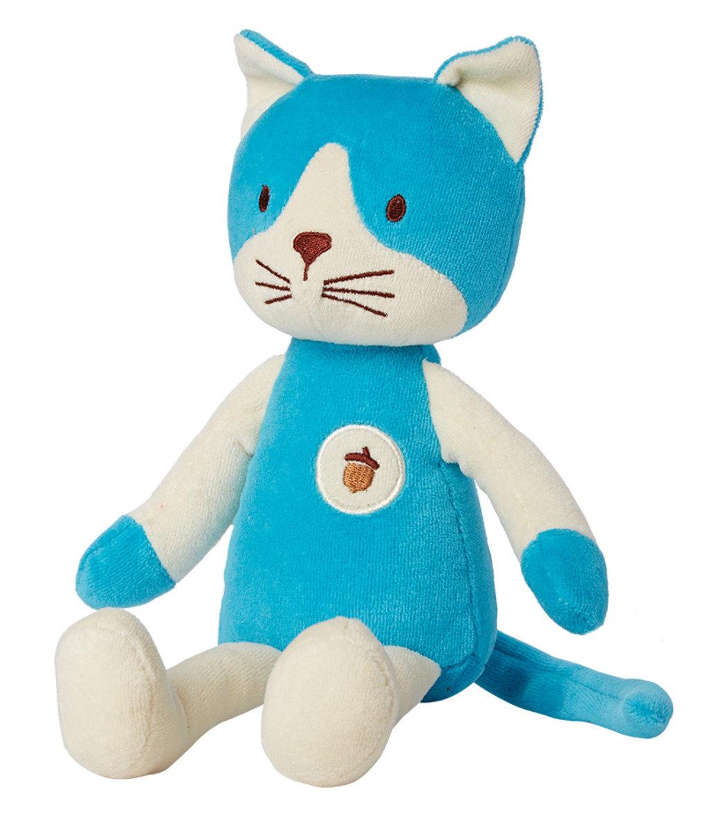 美國紐約My Natural™Plush Collection天然有機棉公仔 - 藍色小貓