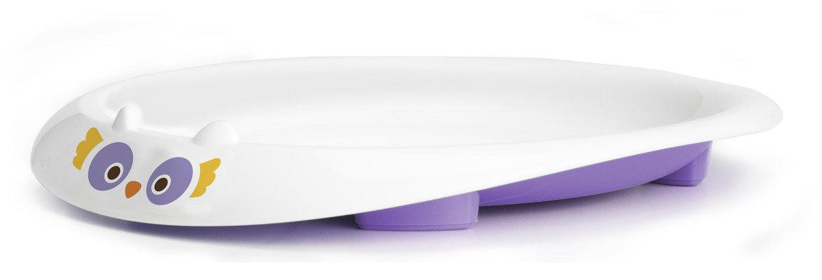 美國紐約My Natural™純天然有機餐盤 - 紫色貓頭鷹