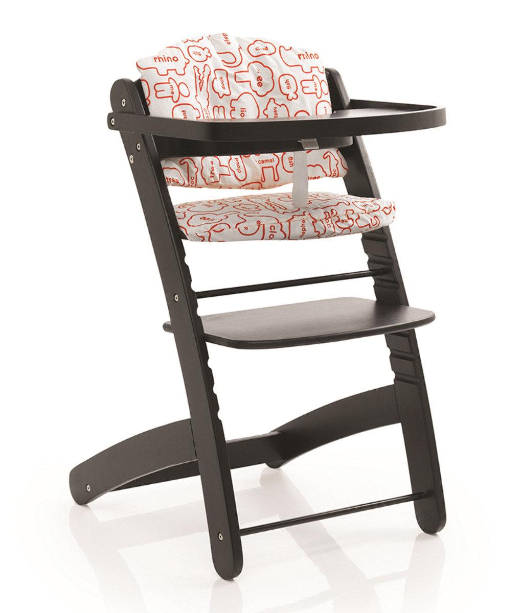 英國 Cosatto Pretzel 成長型木餐桌椅 - 黑色