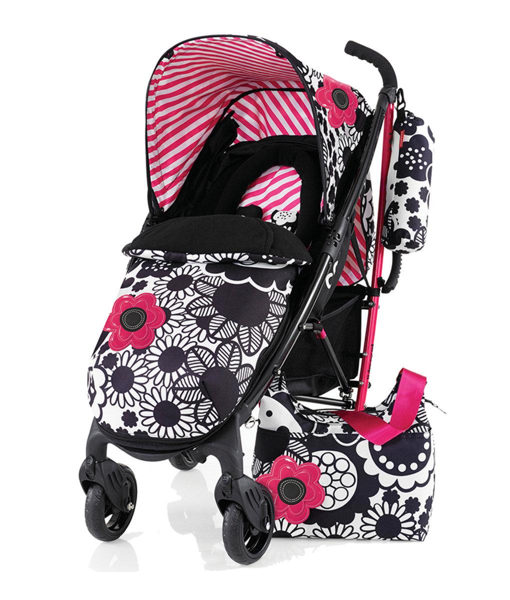 英國 Cosatto YO! 嬰兒手推車 特別版 - Mono Bloom