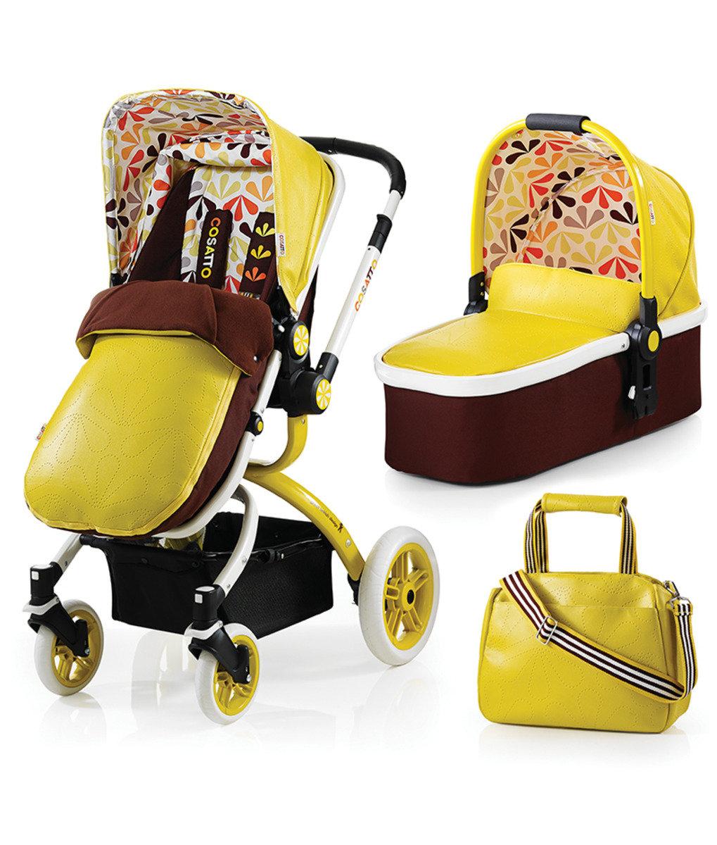 英國 Cosatto Ooba 嬰兒3合1組合推車 - Marzipan