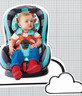 英國 Cosatto Moova Group 1 嬰幼童汽車安全座椅 - Cuddle Monster