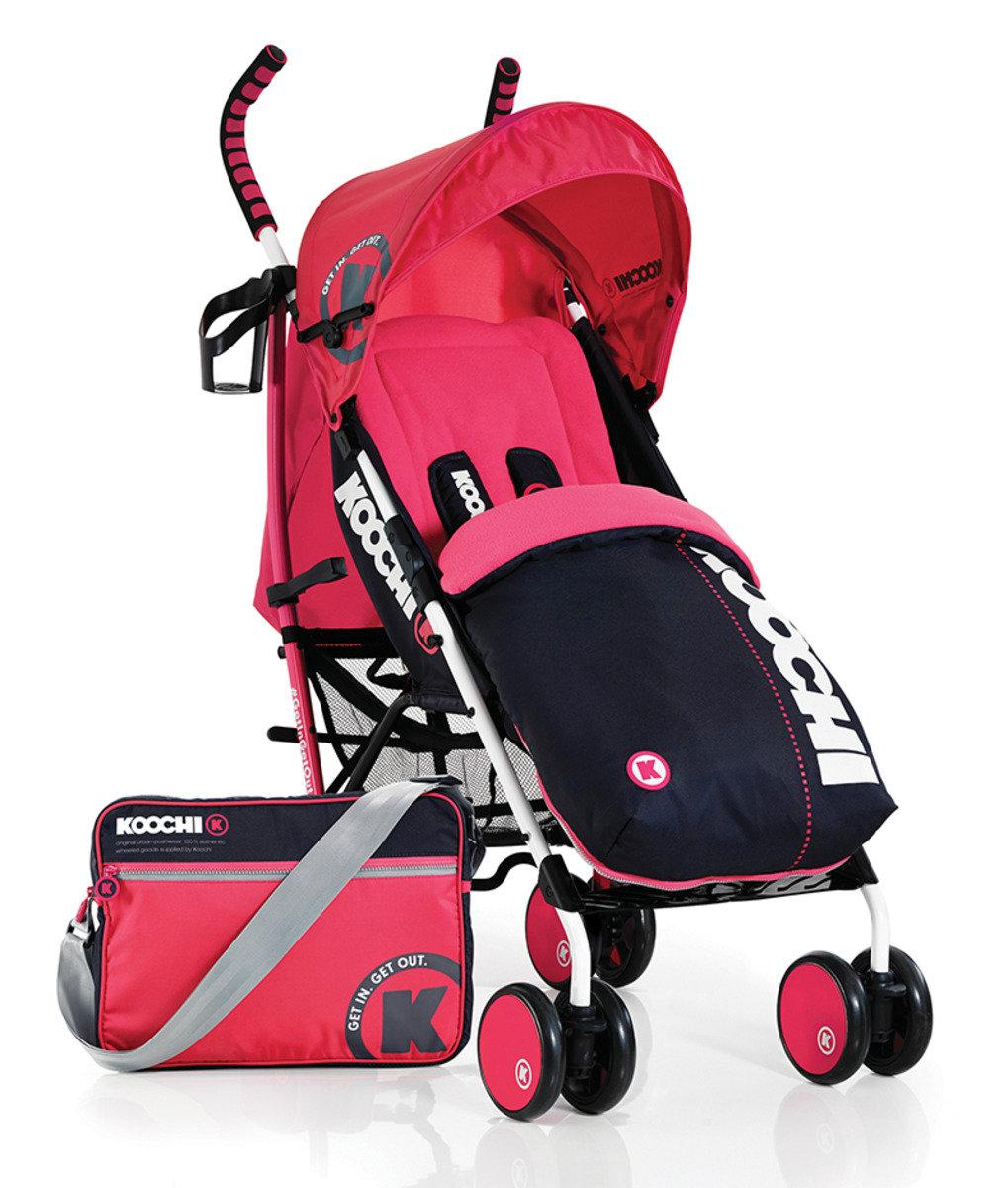 英國 Koochi Speedstar 嬰兒手推車 - Mix Magenta