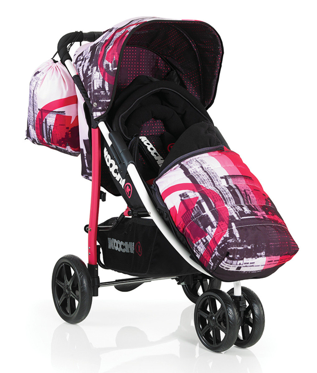 英國 Koochi Pushmatic 嬰兒三輪手推車 - Brooklyn PM