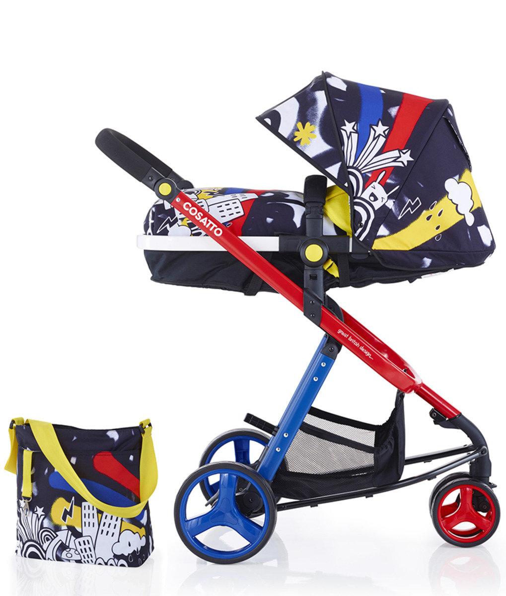 英國 Cosatto Woop 嬰兒2合1組合推車 – Tropico