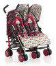 英國 Cosatto Supa Dupa 雙人嬰兒車 - Flamingo Fling