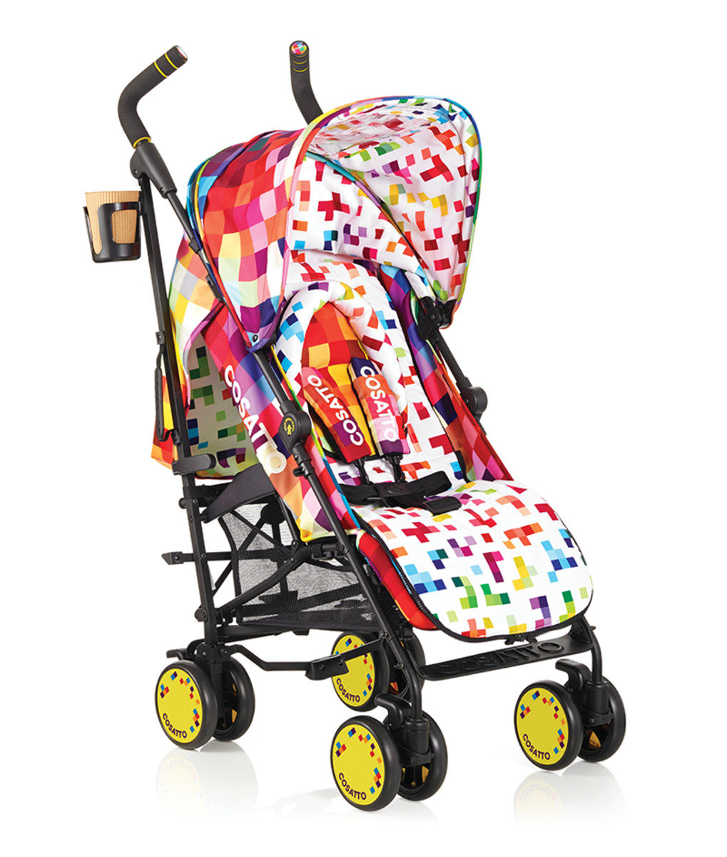 英國 Cosatto Supa 嬰兒車 – Pixelate 彩色格仔