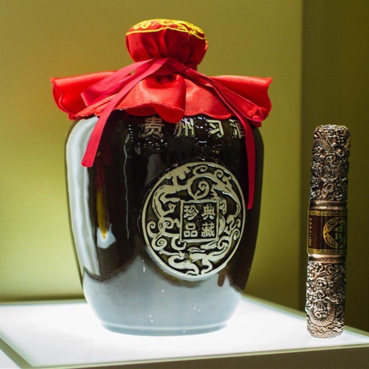 典藏珍品 3000 毫升53% 酒精度 醬香型白酒