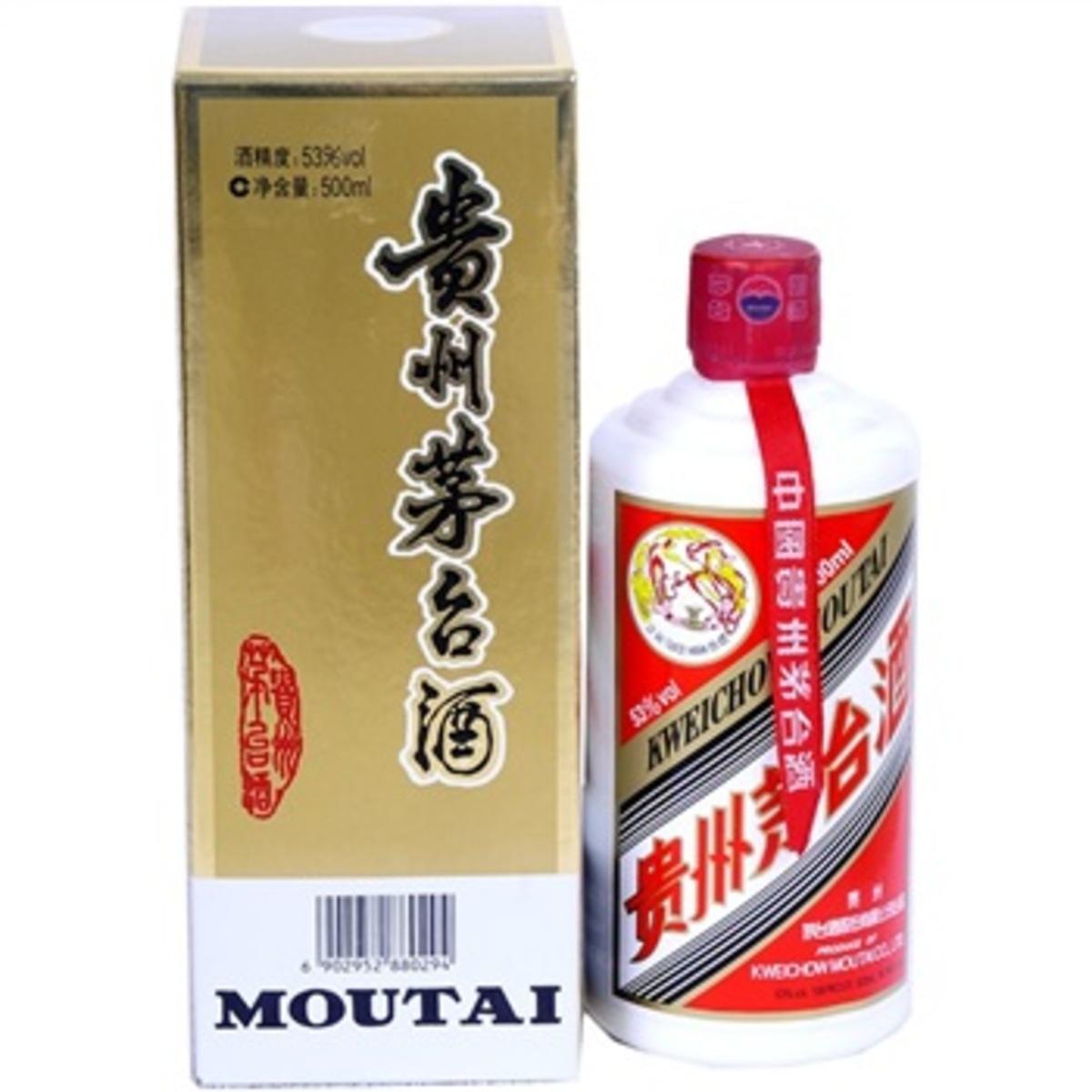 貴州茅台酒 500毫升 53% 酒精度 醬香型白酒
