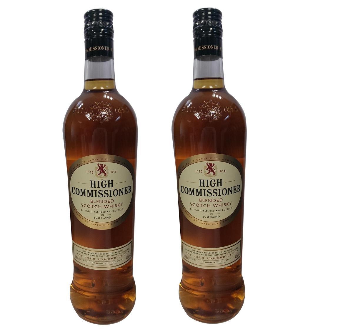 至尊蘇格蘭威士忌 1000毫升 40%酒精度 2支