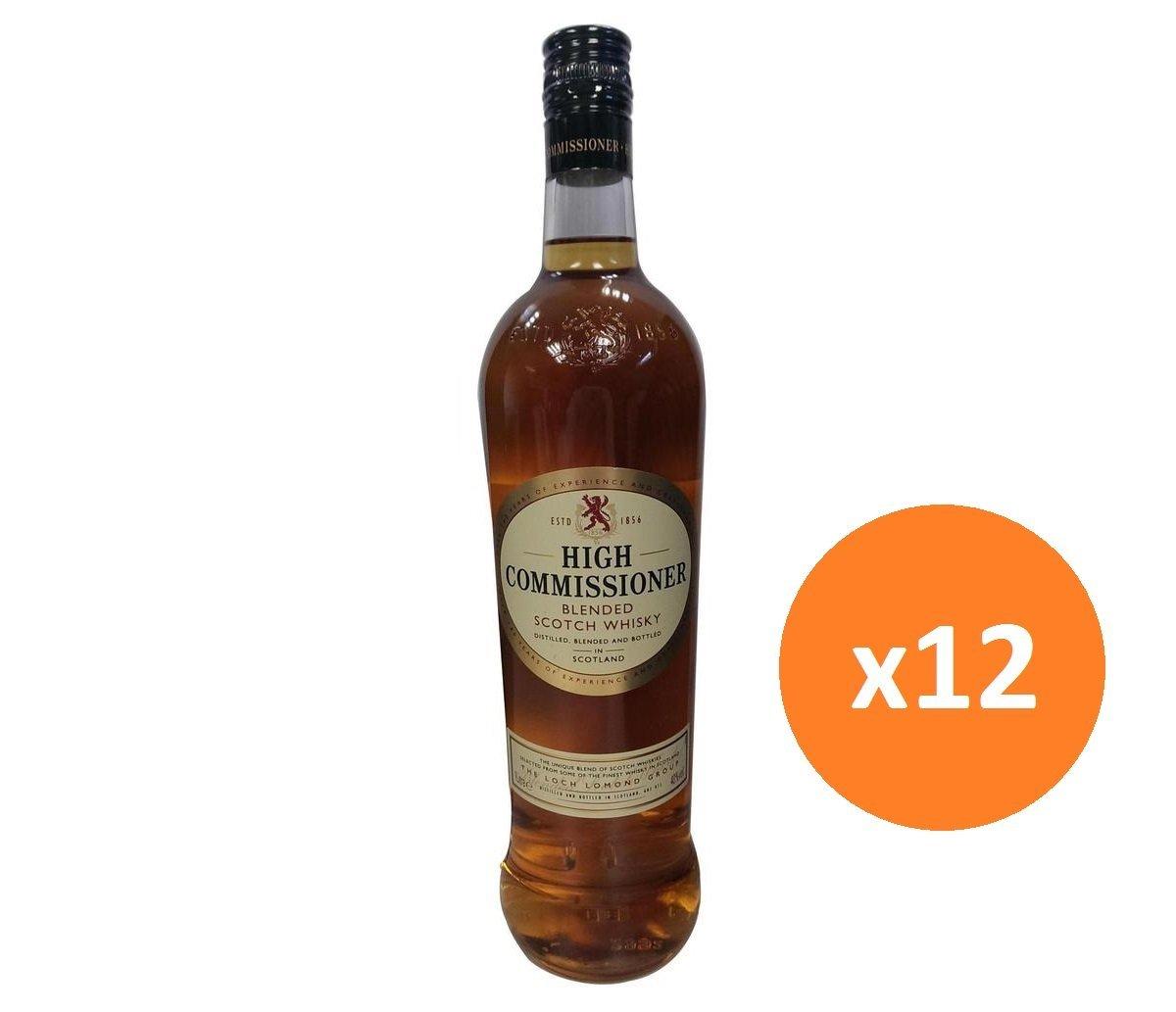 至尊蘇格蘭威士忌 1000毫升 40%酒精度 12支