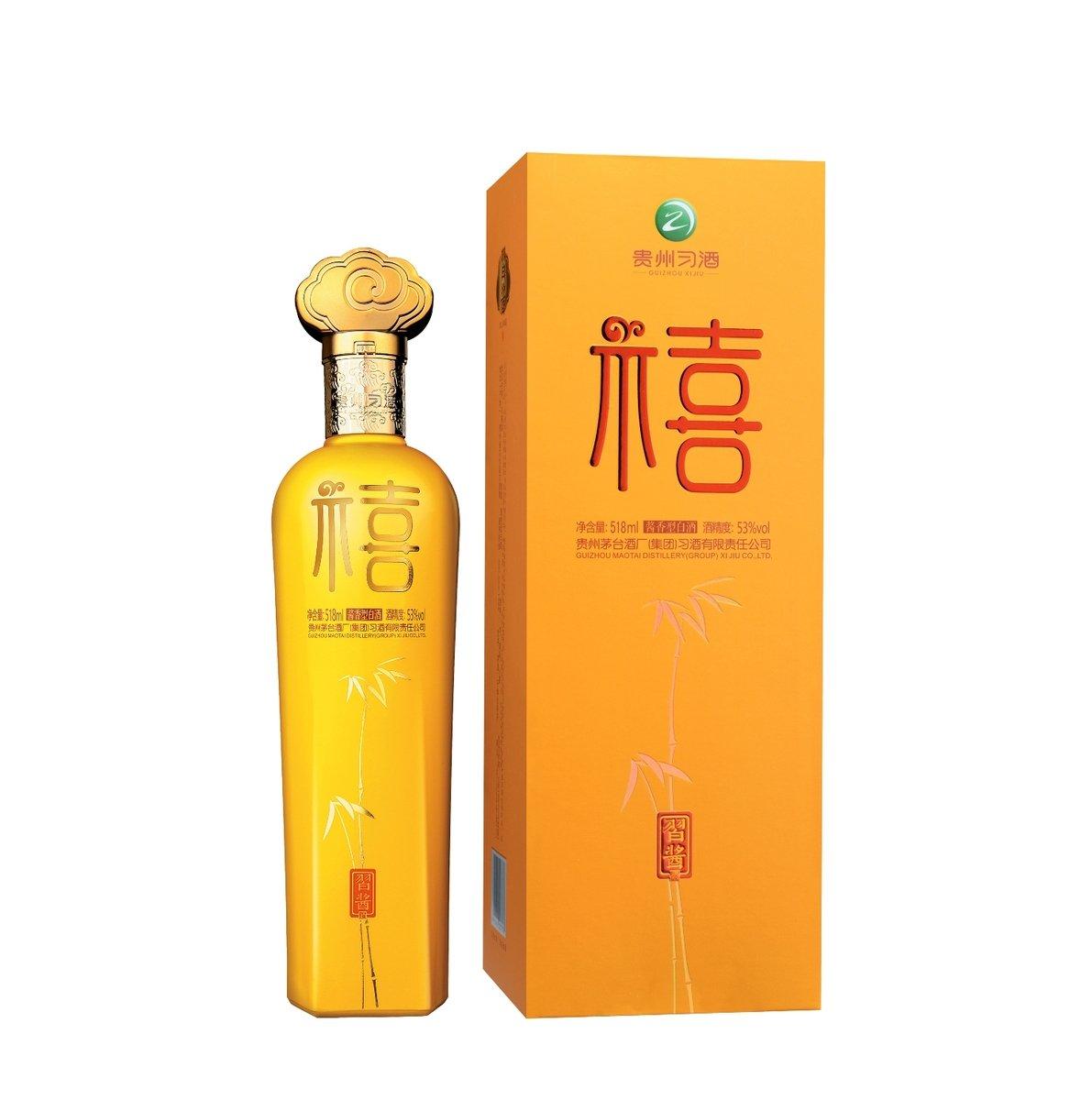 習醬福禧518 毫升 53% 酒精度 醬香型白酒