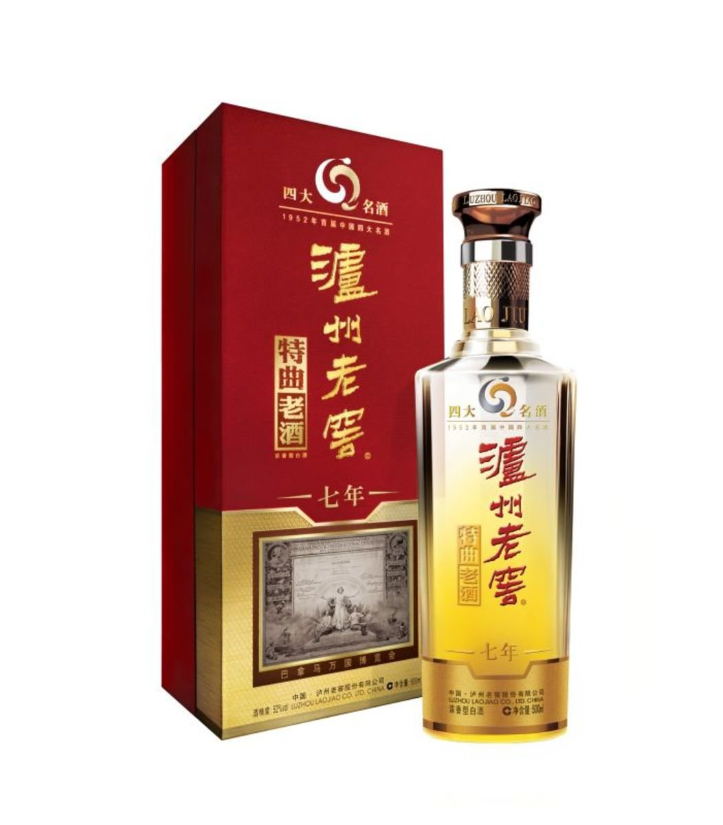 瀘州老窖 特曲老酒 7年 500毫升  52% 酒精度 濃香型 1支