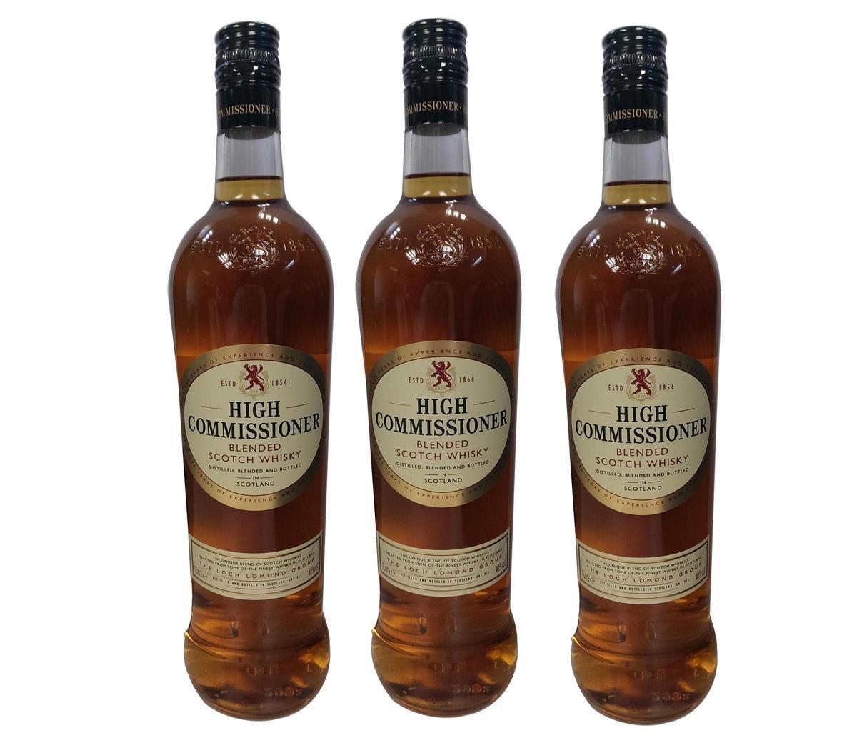 至尊蘇格蘭威士忌 1000毫升 40%酒精度3支