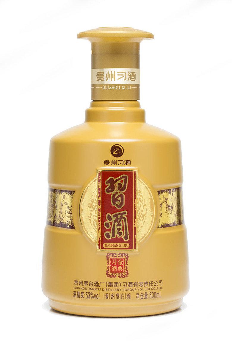 金典習酒500 毫升 53% 酒精度 醬香型白酒