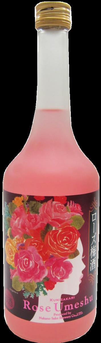國盛 玫瑰梅酒 720ml