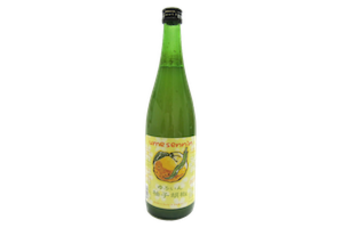 梅仙人柚子胡椒果酒 720ml