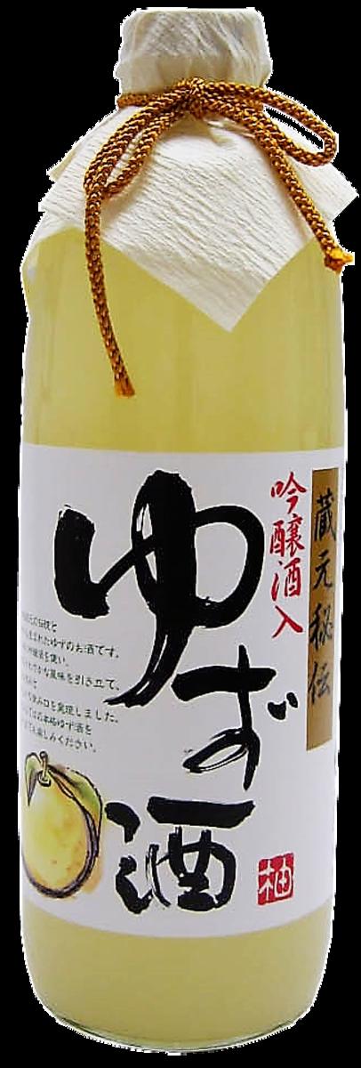 宮下蔵元秘伝吟醸柚子酒 500ml