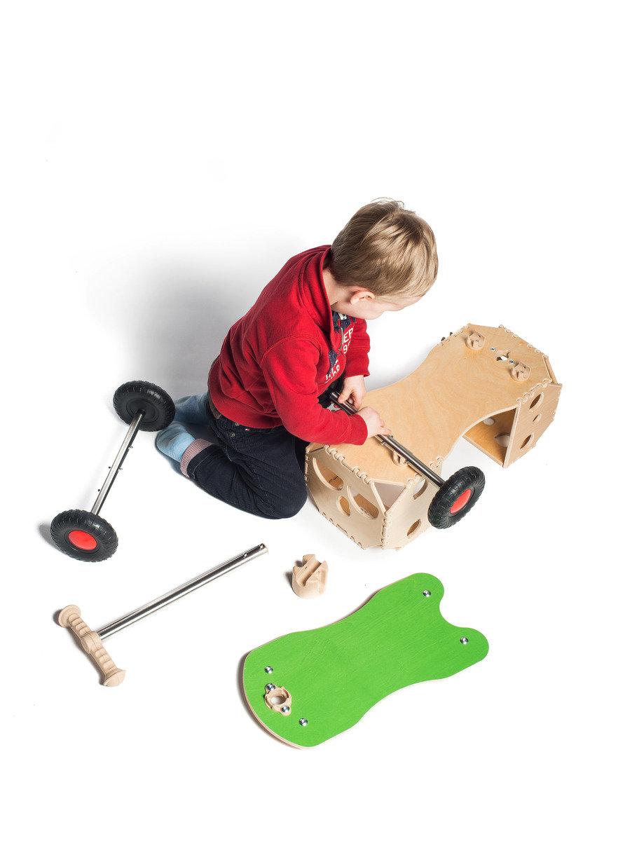 mingo 啟發創意自由組裝玩具