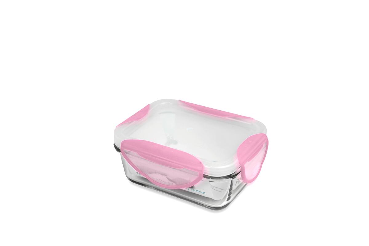 Clip Fresh -  330ml 玻璃焗盤密實保鮮盒