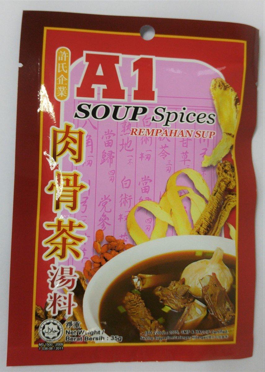 A1 肉骨茶湯料 (35克)