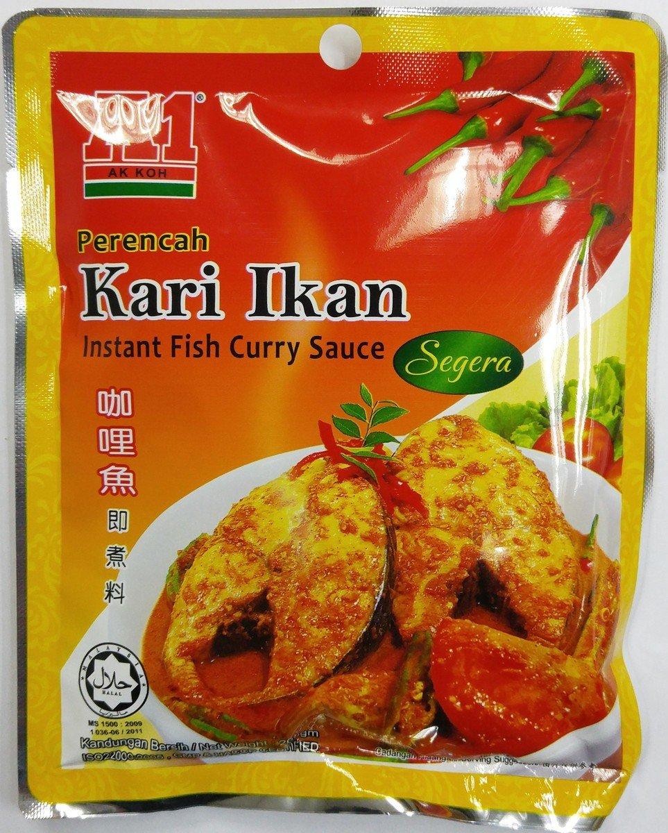 A1 咖哩魚即煮醬料