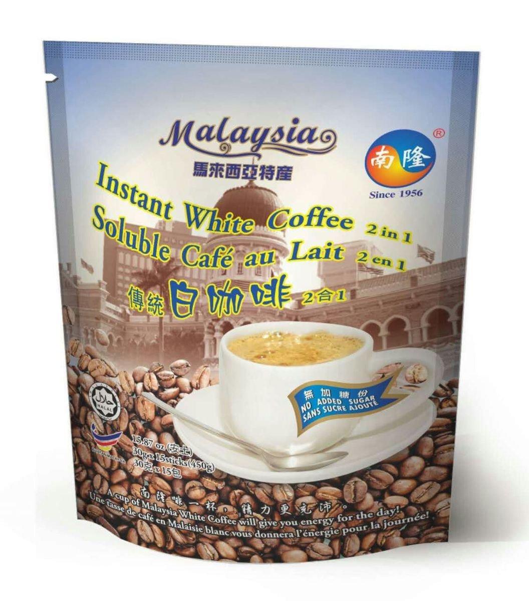 南隆即沖馬來西亞白咖啡, 傳統2合1混合式, 450克(30克 x 15條)