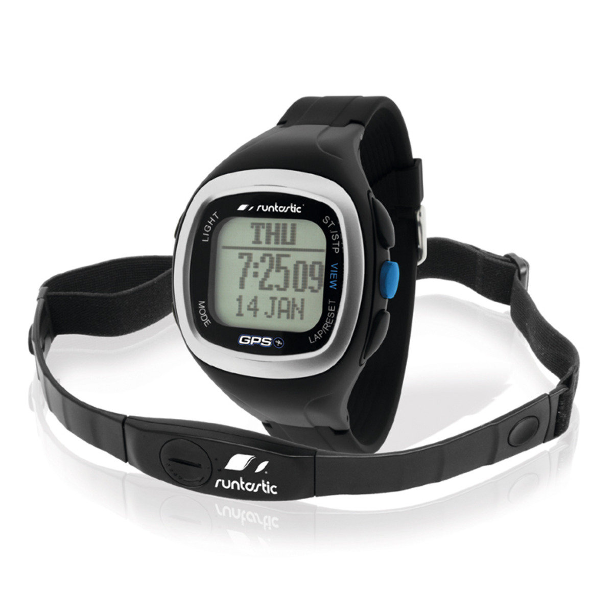 GPS手錶連心跳帶