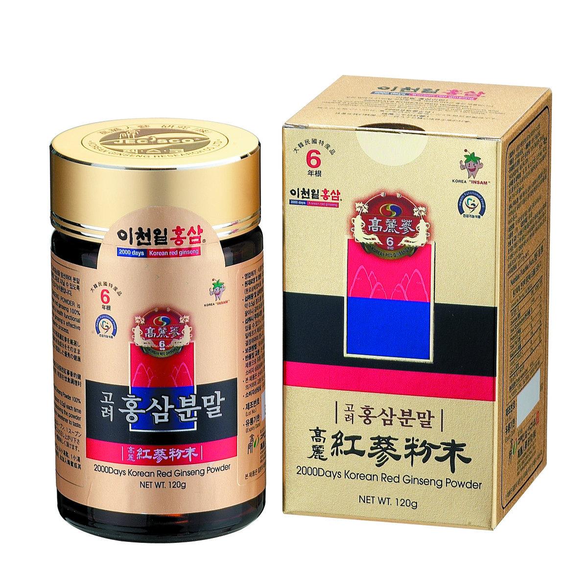 6年根韓國紅蔘粉 (120g)