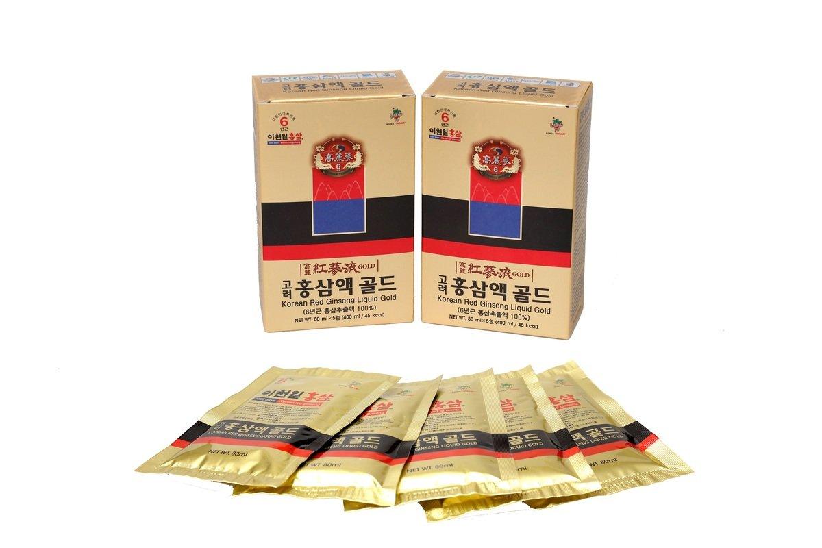 6年根韓國紅蔘液(80ml X 10包)