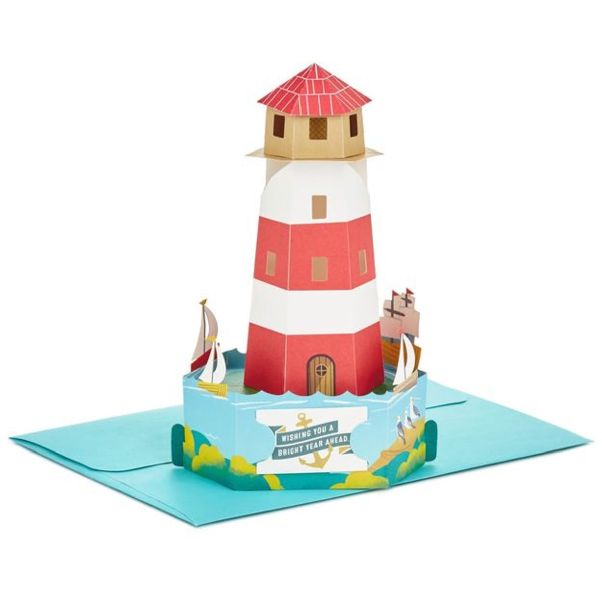 Hallmark Bright Wishes Lighthouse Pop Up Birthday Card