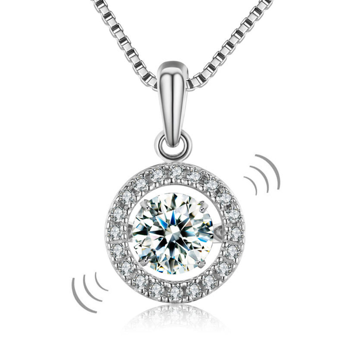 from full l front products by kylie diamond florida simulated closet necklace s image silver lafonn