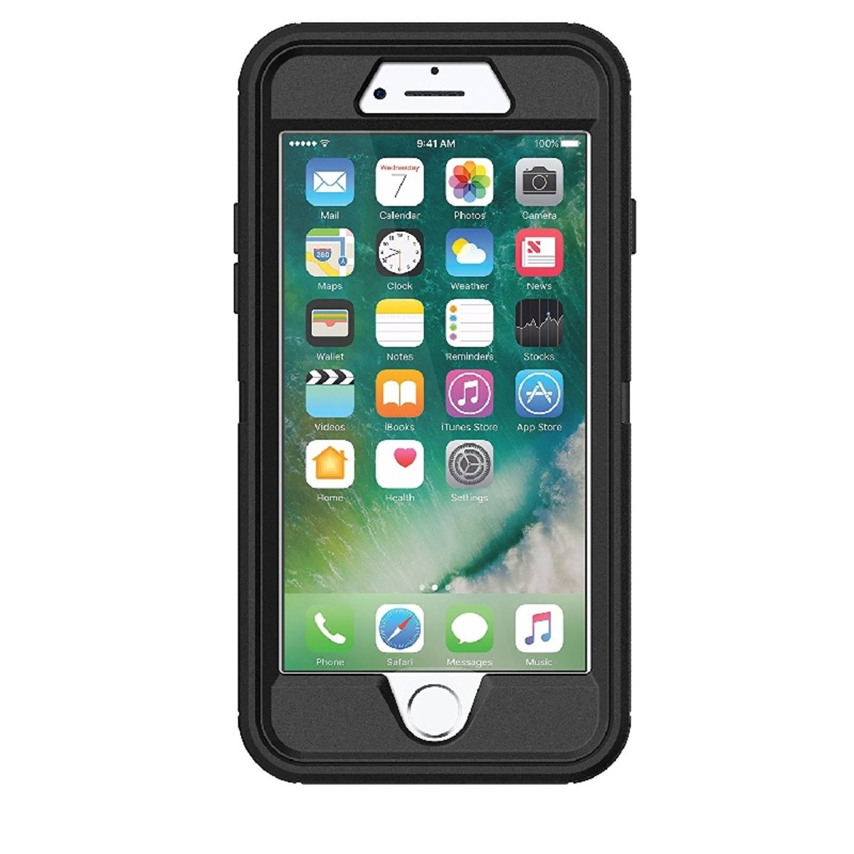 best authentic 94f9f 083fd OTTERBOX   DEFENDER FOR IPHONE 7/8 -BLACK (77-56603) 【HK Official ...