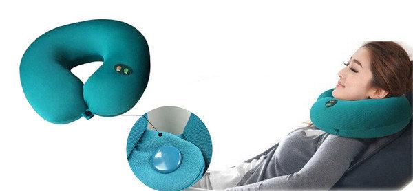 6 個按摩模式,針對不同按摩功效 U型電動按摩頸枕