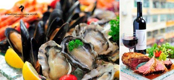 口腔中跳躍的海上鮮 Stanford Hillview Hotel 環球海鮮自助晚餐