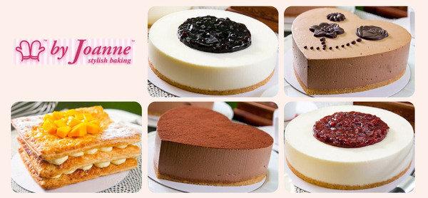 By Joanne Styling Baking 著名電視節目<甜姐兒>星級甜點師 經典藍莓芝士蛋糕,紅桑子芝士蛋糕 $49起