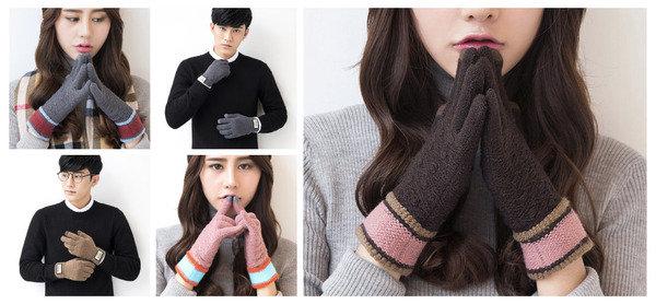 暖住手 玩電話 iwinter 保暖觸屏手套